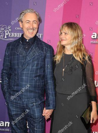 Stock Photo of Alan Cumming and Jennifer Jason Leigh