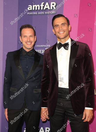 Stock Image of Jason Landau and Cheyenne Jackson