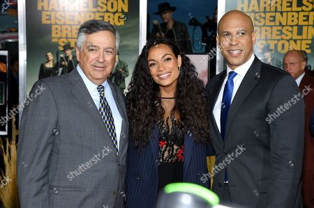 Tony Vinciquerra, Rosario Dawson and Cory Booker