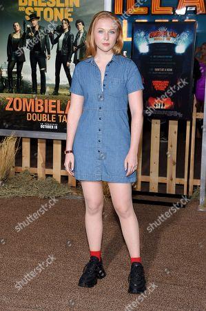 Editorial image of 'Zombieland: Double Tap' film premiere, Arrivals, Regency Village Theatre, Los Angeles, USA - 10 Oct 2019