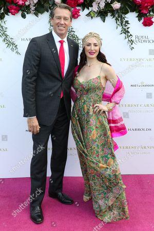 Glenn McGrath and Sara Leonardi McGrath