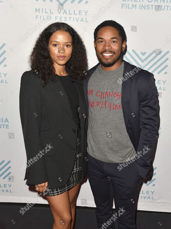 Taylor Russell and Kelvin Harrison Jr.