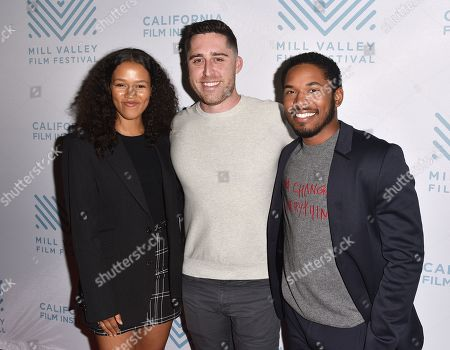 Taylor Russell, Trey Edward Shults and Kelvin Harrison Jr.