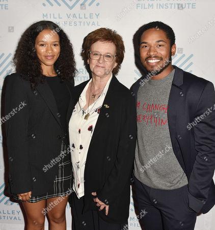 Taylor Russell, Zoe Elton and Kelvin Harrison Jr.