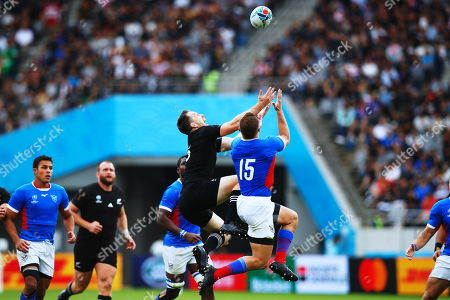 Editorial picture of New Zealand v Namibia, Rugby World Cup, Tokyo, Japan - 06 Oct 2019