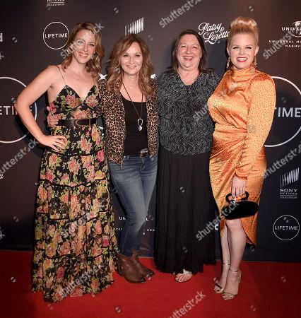 Jessie Mueller, Patsy Lynn Russell, Julie Fudge and Megan Hilty