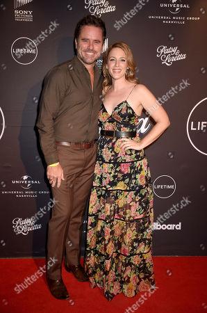 Charles Esten and Jessie Mueller