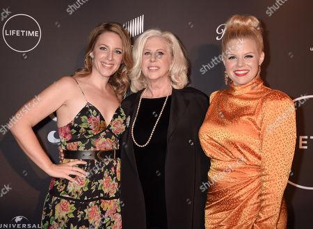 Jessie Mueller, Callie Khouri and Megan Hilty