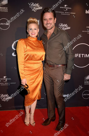 Stock Picture of Megan Hilty and Charles Esten