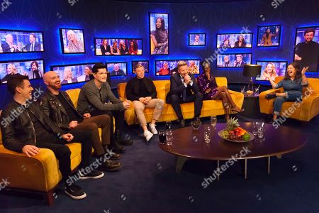 The Script, Glen Power, Mark Sheehan, Danny O'Donoghue, Rob Beckett, Gordon Ramsay, Dina Asher-Smith, Rosie Jones