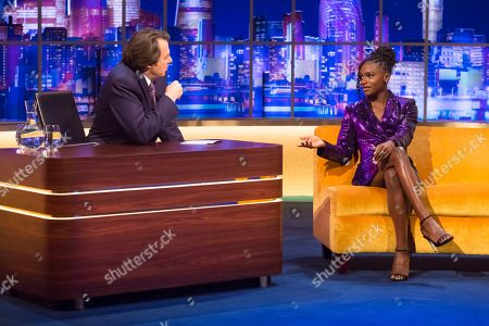 Jonathan Ross, Dina Asher-Smith