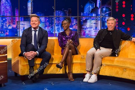 Gordon Ramsay, Dina Asher-Smith, Rob Beckett