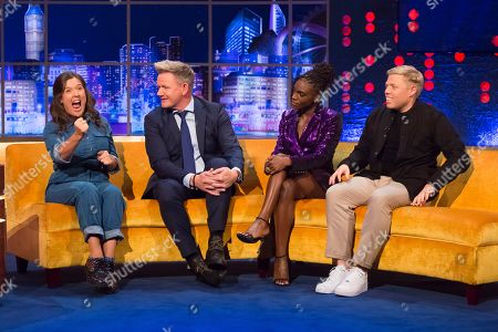 Rosie Jones, Gordon Ramsay, Dina Asher-Smith, Rob Beckett
