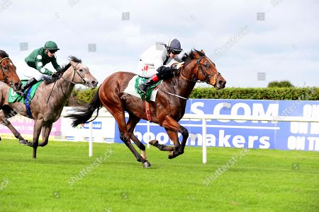 NAVAN. FLAMING MOON and Colin Keane win for trainer Matthew Smith.