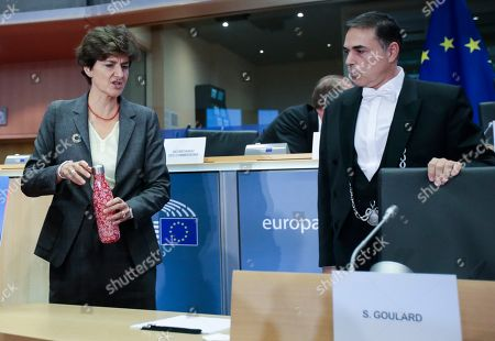 European Commissioner-designate in charge of Internal Market , from France , Sylvie Goulard during her second hearing  before the European Parliament in Brussels, Belgium 10 October 2019.