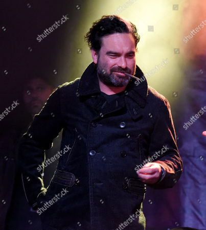 Stock Picture of Johnny Galecki