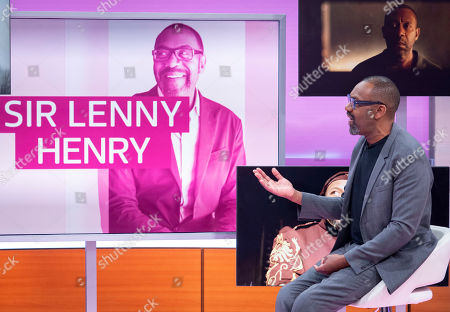 Stock Picture of Sir Lenny Henry
