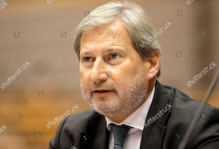 Editorial photo of EU Parliament Plenary session, Brussels, Belgium - 10 Oct 2019