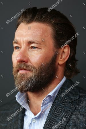 Stock Photo of Joel Edgerton arrives for the Australian premiere of the movie 'The King' at The Ritz Cinema in Randwick, Sydney, Australia, 10 October 2019.