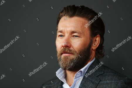 Stock Picture of Joel Edgerton arrives for the Australian premiere of the movie 'The King' at The Ritz Cinema in Randwick, Sydney, Australia, 10 October 2019.
