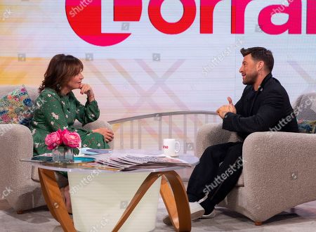 Editorial picture of 'Lorraine' TV show, London, UK - 10 Oct 2019