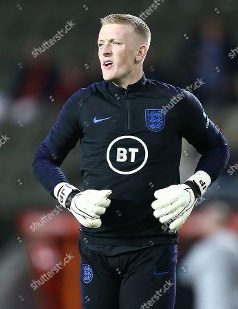 Jordan Pickford of England