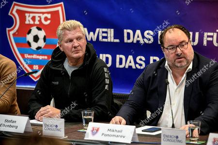 Editorial image of New KFC Uerdingen manager Stefan Effenberg, Duesseldorf, Germany - 10 Oct 2019