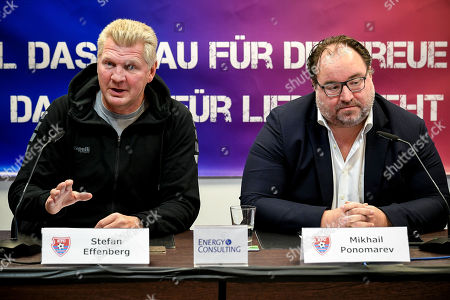 Editorial photo of New KFC Uerdingen manager Stefan Effenberg, Duesseldorf, Germany - 10 Oct 2019