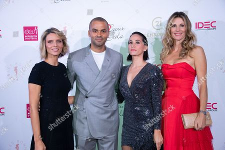 Editorial photo of Par Coeur Gala, Paris, France - 09 Oct 2019