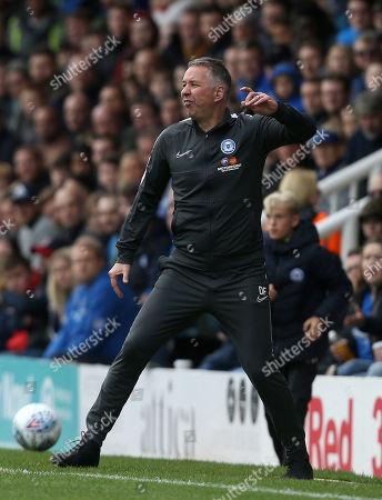 Stock Picture of Peterborough manager Darren Ferguson