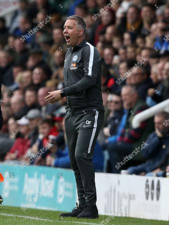 Stock Image of Peterborough manager Darren Ferguson