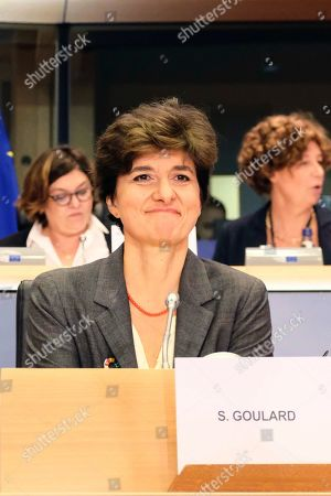 Stock Picture of Sylvie Goulard, Commissioner-designate Industrial policy, Internal Market