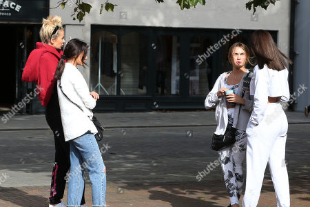 Stock Picture of Olivia Attwood, Clelia Theodorou, Ella Rae Wise and Kelsey Stratford