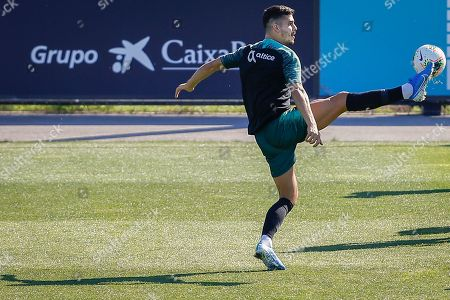 Portugal's Andre Silva during a training session at Cidade do Futebol in Oeiras, Portugal, 10 October 2019. Portugal faces Luxemburg and Ukraine in UEFA Euro 2020 qualifier matches on 11 and 14 October.