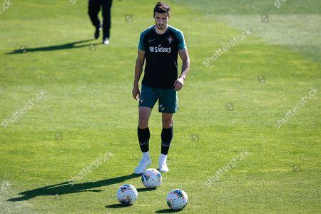 Portugal's Ruben Dias in action during a training session at Cidade do Futebol in Oeiras, Portugal, 10 October 2019. Portugal faces Luxemburg and Ukraine in UEFA Euro 2020 qualifier matches on 11 and 14 October.