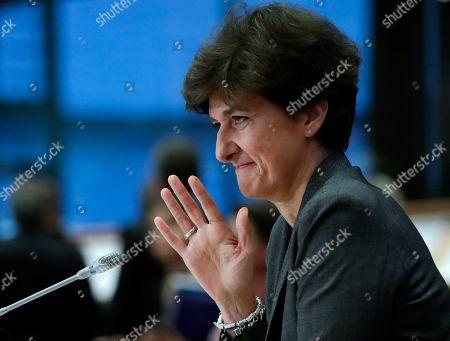 Editorial photo of European Commissioner-designate Sylvie Goulard rejected, Brussels, Belgium - 10 Oct 2019
