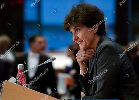 Editorial image of European Commissioner-designate Sylvie Goulard rejected, Brussels, Belgium - 10 Oct 2019