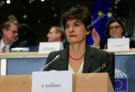 Editorial picture of European Commissioner-designate Sylvie Goulard rejected, Brussels, Belgium - 10 Oct 2019
