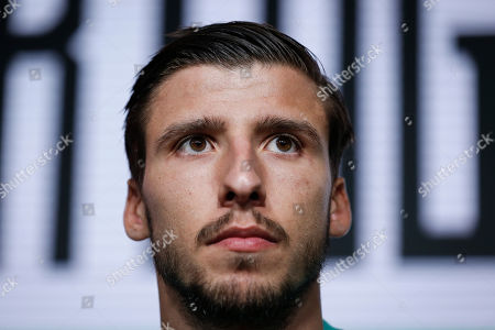 Portugal player Ruben Dias during a press conference at Cidade do Futebol in Oeiras, Portugal, 10 October 2019. Portugal faces Luxemburg and Ukraine in UEFA Euro 2020 qualifier matches on 11 and 14 October.