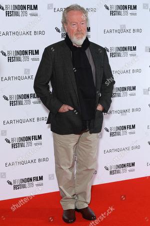 Editorial picture of 'Earthquake Bird' film premiere, BFI London Film Festival, London, UK - 10 Oct 2019