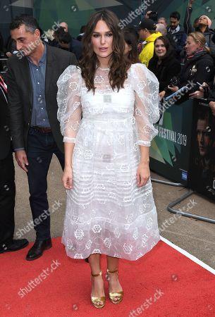 Editorial picture of 'Official Secrets' film premiere, BFI London Film Festival, UK- 10 Oct 2019