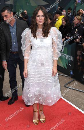 Editorial photo of 'Official Secrets' film premiere, BFI London Film Festival, UK- 10 Oct 2019