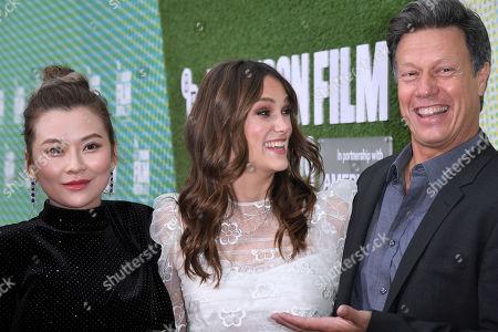 Melissa Shiyu Zuo, Keira Knightley and Gavin Hood