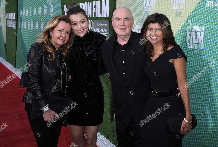 Melissa Shiyu Zuo, Caroline Scheufele and Ged Doherty