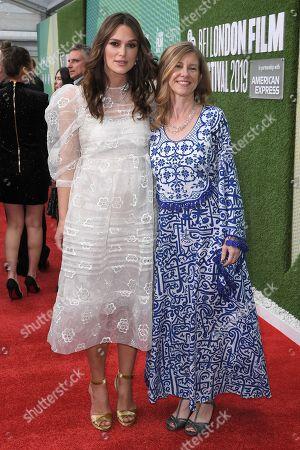 Keira Knightley and Katharine Gun