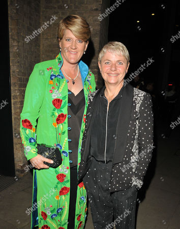 Stock Photo of Clare Balding and Alice Arnold