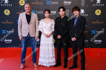 Editorial photo of 'Her Blue Sky' premiere, 52nd Sitges Fantastic Film Festival, Spain - 09 Oct 2019