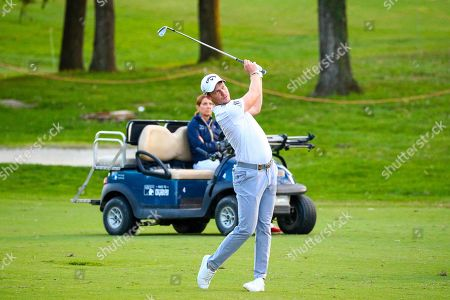 English Danny Willett on the 18th hole during the first day of the Golf Italian Open 2019, Rome, 10 October 2019.