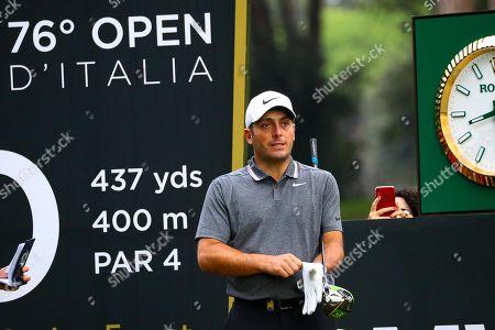 Italian Francesco Molinari on the 10th hole during the Golf Italian Open 2019, Rome, 10 October 2019.
