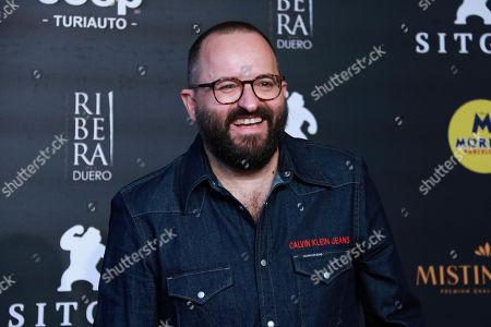 Fernando Gonzalez attends the premiere of 'Legado en los huesos' ('The Legacy Of The Bones')